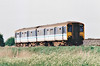 Class 150 235 passes Horsemoor on a Peterborough - Ipswich service, 08/05/98.