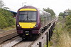 Class 170 503 passes Whittlesea on 5R70 Norwich - Grantham crew trainer, 12/08/21.