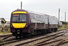 Class 170 503 passes March East as EMR Crew trainer 5L10 Grantham - Norwich, 18/08/21.