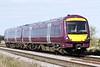 Class 170 503 passes Welney Road AHB on 1L08 1140 Nottingham - Norwich, 24/09/21.