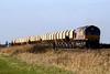 66136 is eastbound at Australia Farm OC on 6L39 Mountsorrel - Trowse LaFarge stone, 09/12/11.