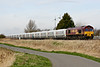 66083 passes Horsemoor AHB on 6L39 Mountsorrel - Trowse, 08/03/17.