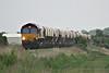 66073 approaches Horsemoor on the Kennett - Mountsorrel stone empties, 29/05/14.