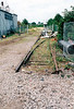 WISBECH - looking north from Weasenham Lane LC towards Wisbech Yard, Metal Box on the right, 15/07/04. All the land beyond the fence is now built on.