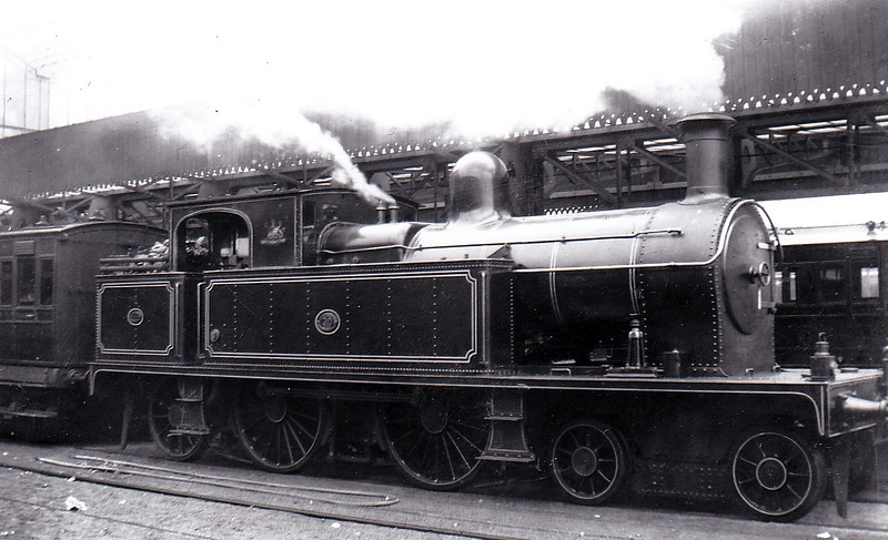 20 - 4-4-2T built 1909 by Beyer Peacock & Co., Works No.5264 - 1948 to UTA as No.220 - withdrawn 1956 but last ran in 1951 - seen here at Belfast in September 1913.