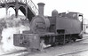 No.5T - 2-6-2T, built 1892 by Hunslet Engine Co. as T&DLR No.5 - 1925 to GSR as No.5T, 1945 to CIE - to C&L on closure of T&D - withdrawn 1959 - seen here at Ballinamore, 04/56