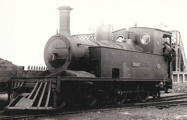 No.4 VIOLET - 4-4-0T, built 1887 by Robert Stephenson & Co. - 1925 to GSR, 1945 to CIE - withdrawn 1960.