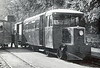 CLOGHER VALLEY RAILBUS - A poor picture I know but the only one I've ever seen of the 28 seat railbus built by Walker Bros. of Wigan for the railway in 1932 actually in CVR hands. It was acquired by the CDRJC on closure, being almost identical with their vehicles
