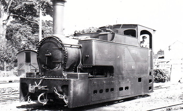 No.6 ERNE - 0-4-2T - built 1887 by Sharp Stewart & Co., Works No.3374 - withdrawn in 1942 - seen here in July 1938.