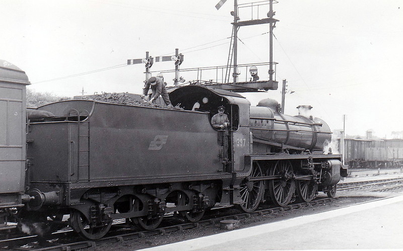 Class K1A - 397 - GSR Class 393 2-6-0, built 1930 by Inchicore Works - 1945 to CIE - withdrawn in 1957.