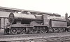 Class D 3 - 328 - Coey GS&WR Class 321 4-4-0, built 1905 by Inchicore Works - 1922 rebuilt with heavier frames, 1925 to GSR, 1929 rebuilt with Belpaire boiler, 1932 rebuilt, 1945 to CIE - withdrawn 1959 - seen here at Inchicore in June 1954.