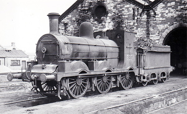 Class J18 - 585 - M&GWR Class Lm 0-6-0, built in 1895 by Sharp Stewart & Co., Works No.4058, as M&GWR No.131 ATLAS - 1925 to GSR as No.585, 1945 to CIE - withdrawn in 1960.