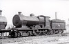 Class D 2 - 340 - GS&WR Class 333 4-4-0 - built 1908 by Inchicore Works - 1925 to GSR, 1932 rebuilt with Belpaire boiler, 1945 to CIE - withdrawn 1955 - seen here at Inchicore in 1948.