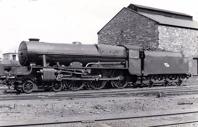 Class B 1A - 800 MAEDHBH - GSR 800 Class 4-6-0, built 1939 by Inchicore Works - 1945 to CIE - withdrawn 1962 - seen here at Inchicore in May 1950.