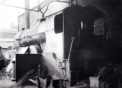 Class D2 - 340 - Coey GSWR Class 333 4-4-0 - built 1908 by Inchicore Works - 1925 to GSR - 1932 rebuilt with superheated Belpaire boiler - 1945 to CIE - 1955 withdrawn - seen here in use as stationary boiler.