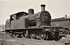 Class C2 - 457 - Dublin & South Eastern Railway 4-4-2T - built 1924 by Beyer Peacock & Co., Works No.6205, as D&SER No.35 - 1925 to GSR, 1926 reboilered, 1945 to CIE - 1959 withdrawn - seen here at Broadstone in 07/54.