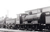 Class J15 - 124 - GS&WR Class 101 0-6-0, built 1881 by Inchicore Works - 1901 rebuilt, 1925 to GSR, 1942 rebuilt with Belpaire boiler, 1945 to CIE, 1948 rebuilt with Belpaire boiler - withdrawn 1965 - seen here at Thurles in 1964.