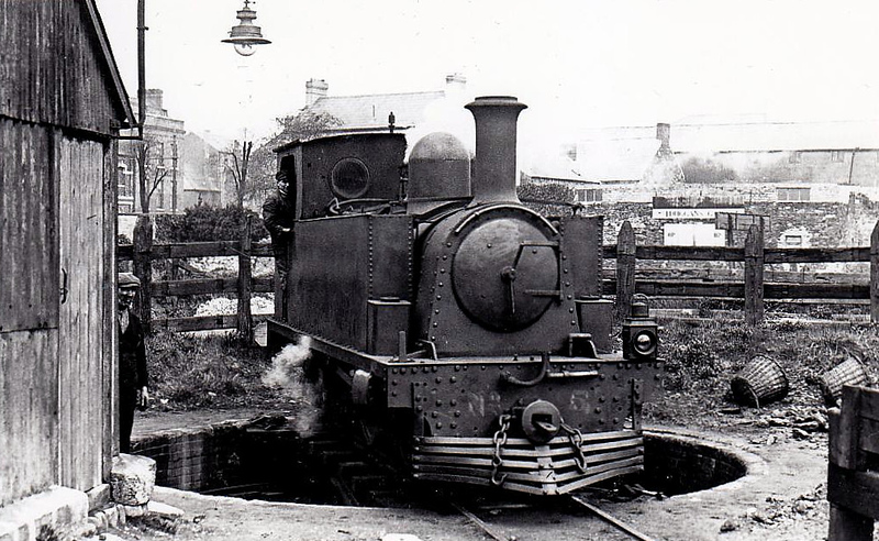 No.5 DONOUGHMORE - 0-4-4T, built 1892 by Tim Green & Co., Works No.180 - 1925 to GSR - withdrawn 1927.