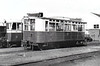 Railcar No.3 - built by Drewry Car Co. to standard gauge for the Dublin & Blessington Tramway in 1926 - 40 passengers - 1934 sold to CDRJC on closure of D&BT and converted to 3 foot gauge, 1944 engine removed, used as a railcar trailer - preserved at Ulster Folk & Transport Museum - seen here at Stranorlar in 02/39.