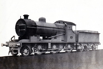 DUBLIN & SOUTH EASTERN RAILWAY - 15 - Wild DSER 2-6-0 - built 1922 by Beyer Peacock & Co., Works No.6112 - 1925 to GSR as No.461 - 1945 to CIE - 1965 withdrawn - builder's picture.