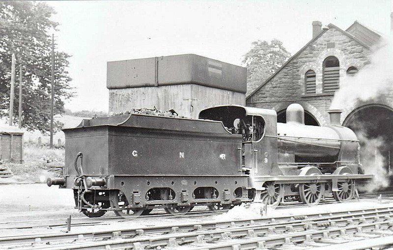 Class NQG - 9 KELLS - 0-6-0, built 1911 by Nasmyth Wilson - 1930 rebuilt as Class NQGs - 1958 to UTA as No.9x - withdrawn 1960 - seen here at Enniskillen in 1937.