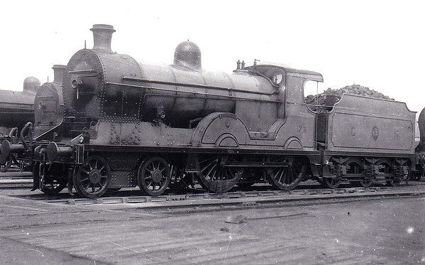 Class S - 173 GALTEE MORE - GNR(I) 4-4-0 - built 1913 by Beyer Peacock - 1938 rebuilt - 1958 to UTA as No.61 - withdrawn 1964.