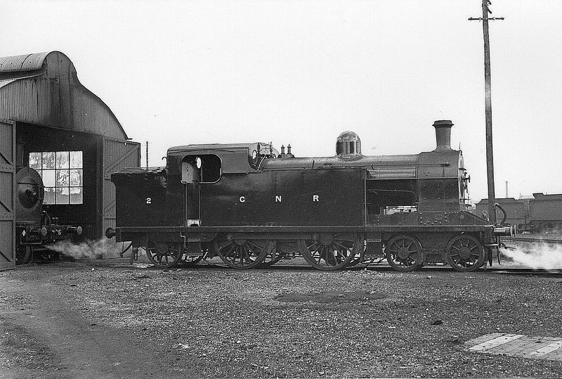 Class T2 -   2 - GNR(I) 4-4-2T, built 1921 by Beyer Peacock - 1958 to UTA as No.2X - withdrawn 1960.