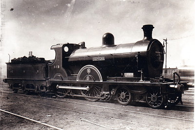 Class QL - 113 NEPTUNE - Clifford GNR(I) 4-4-0 - built 1904 by North British Loco Co., Works No.16190 - 1924 rebuilt as Class QLs - withdrawn 1957 - seen here as built.