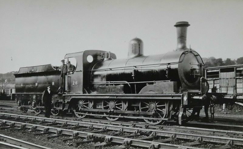 Class A - 28 WEXFORD - Park GNR(I) 0-6-0 - built 1888 by Beyer Peacock & Co., Works No.2904, as No.28 WEXFORD - 1956 withdrawn.