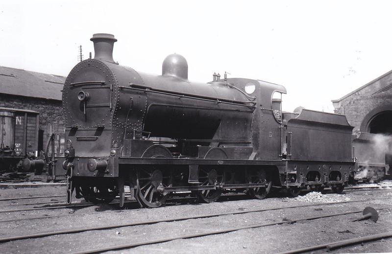 Class LQG - 111 MALAHIDE - Clifford GNR(I) 0-6-0, built 1908 by North British Loco Co., Works No.18287 - 1928 rebuilt to Class LQGs - 1958 to UTA as No.111X - withdrawn 1963.