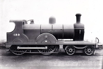 Class Q - 113 APOLLO - Clifford GNR(I) 4-4-0, built 1904 by North British Loco. Co., Works No.16190 - 1924 rebuilt to Class QLs - withdrawn 1957 - builders picture.