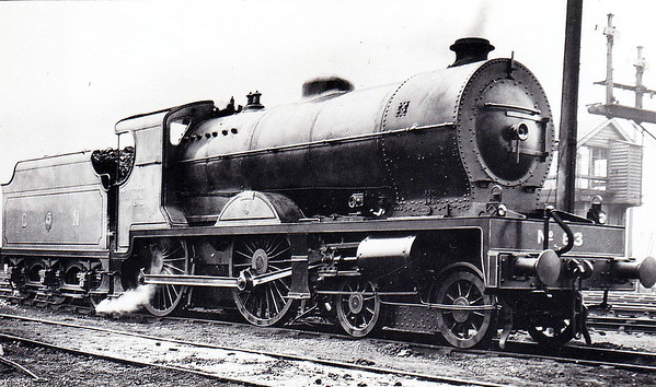 Class V - 83 EAGLE - Glover GNR(I) 4-4-0 - built 1932 by  Beyer Peacock & Co., Works No.6731 - 1949 rebuilt with Belapaire boiler - 1958 to UTA as No.83x - withdrawn 1960.