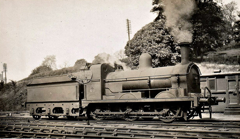 Class A - 60 DUNDALK - Park GNR(I) 0-6-0, built 1890 by Dundalk Works - 1958 to CIE - withdrawn 1959.
