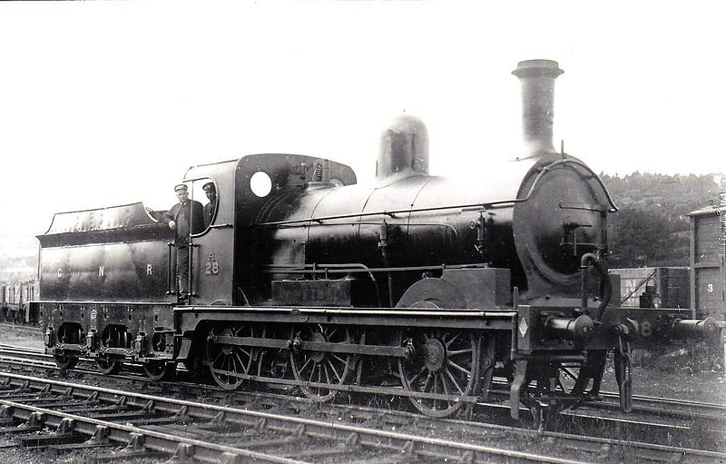 Class A - 28 WEXFORD - GNR(I) 0-6-0 - built 1888 by Beyer Peacock - withdrawn 1956.
