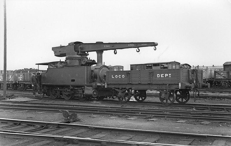 Crane Tank - 31 - GNR(I) 0-6-0T - built 1928 by Hawthorn Leslie - 1958 to Dundalk Engineering Works Ltd.