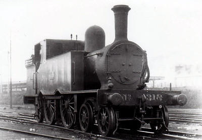 Class C 7 - 318 - GS&WR Class 37 4-4-2T, built 1901 by Inchicore Works - 1925 to GSR, 1945 to CIE - withdrawn 1953 - see here at Cork in 1932.