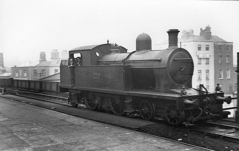 Class C3 - 459 - Dublin & South Eastern Railway 4-4-2T - built 1893 by Sharp Stewart & Co. as D&SER No.54 DUKE OF LEINSTER - 1925 to GSR as Class 458 No.459 - 1934 withdrawn.