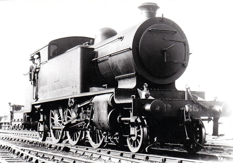 Class P 1 - 850 - GSR Class 850 2-6-2T, built 1928 by Inchicore Works - 1945 to CIE - withdrawn 1955 - seen here at Bray in 1932.