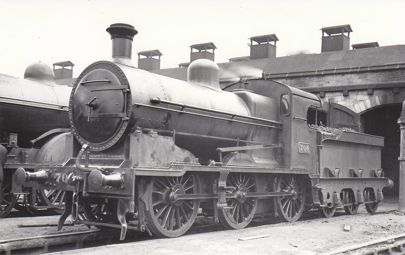 Class J15A - 704 - GSR Class 700 0-6-0, built 1929 by Inchicore Works - 1945 to CIE - withdrawn 1960.
