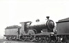 Class D 7 - 538 - M&GWR Class C 4-4-0, built 1910 by Broadstone Works as M&GWR No.4 BALLYNAHINCH - 1924 rebuilt with Belpaire boiler and renumbered to M&GWR No.25, 1925 to GSR as No.538, 1936 rebuilt with Belpaire boiler, 1945 to CIE - withdrawn 1950 - seen here at Broadstone in 06/38.
