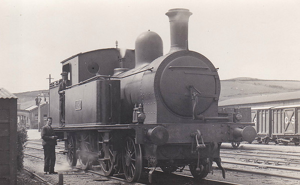 Class F2 - 432 - Dublin, Wicklow & Wexford Railway 2-4-0T - built 1886 by Grand Canal Street Works as DW&WR No.45 ST KIERNAN - 1910 rebuilt as 2-4-2T - 1925 to GSR, 1945 to CIE - 1957 withdrawn.