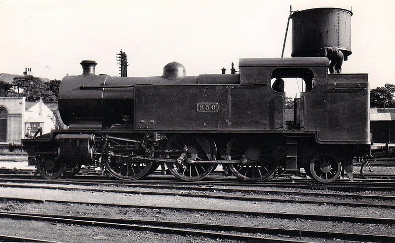 Class P 1 - 850 - GSR Class 850 2-6-2T - built 1928 by Inchicore Works - 1945 to CIE - withdrawn 1955.