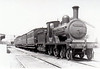 Class D15 - 298 - 4-4-0, built 1897 by Kitson & Co. as Waterford, Limerick & Western Railway No.55 BERNARD - 1901 to GS&WR as No.298, 1925 to GSR, 1927 rebuilt, 1945 to CIE - withdrawn 1949 - seen here at Ennis in 1932 on a Sligo - Limerick train.