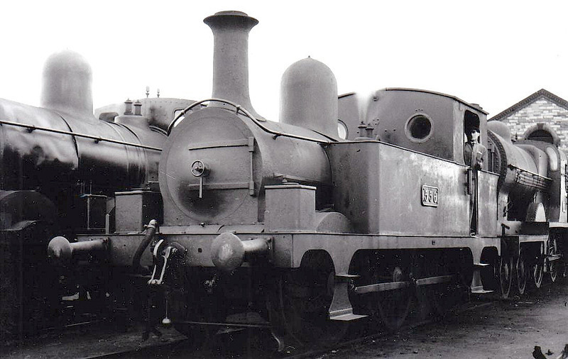 Class J26 - 556 - M&GWR Class E 0-6-0T - built 1891 by Sharp Stewart as M&GWR No.111 WASP - 1925 to GSR as No.556, 1945 to CIE - withdrawn 1956.