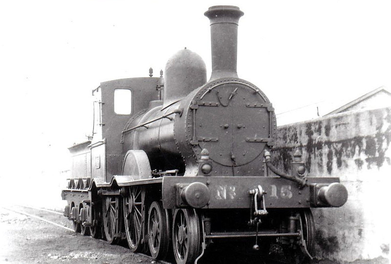 Class D19 -  15 - GS&WR Class 2 4-4-0, built 1880 by Inchicore Works - 1925 to GSR, 1937 rebuilt with Belapaire boiler, 1945 to CIE - withdrawn 1951 - seen here at Limerick in 1932.