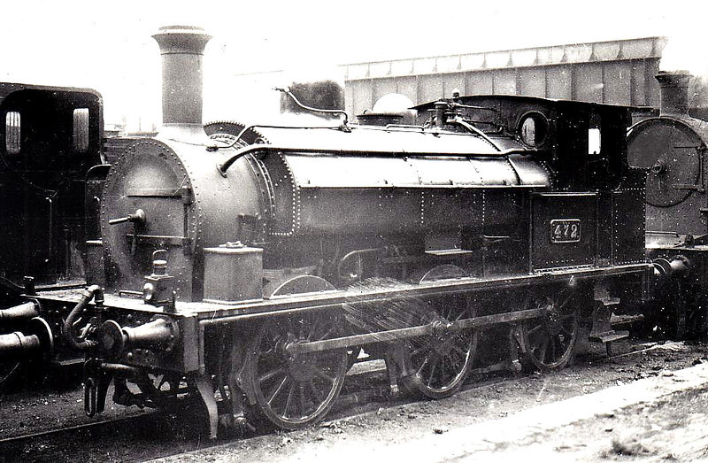Class J24 - 472 - CB&SCR 0-6-0ST, built 1881 by Beyer Peacock as Cork, Bandon & South Coast Railway No.6 - 1925 to GSR as No.472 - withdrawn 1940.