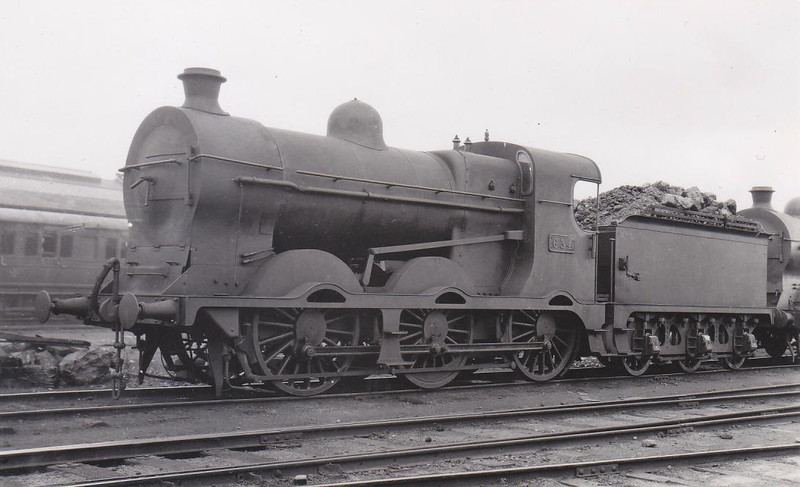 Class J 5 - 634 - M&GWR Class F 0-6-0, built 1921 by Broadstone Works as M&GWR No.40 - 1925 to GSR as No.634, 1945 to CIE - withdrawn 1959.