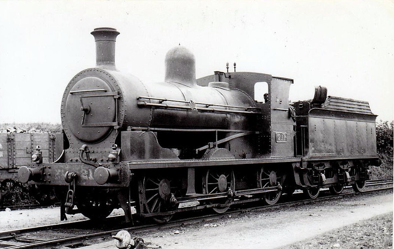 Class J 3 - 211 - GS&WR Class 211 0-6-0, built 1903 by North British Loco Co. as 0-6-2T - 1907 rebuilt as 0-6-0 - 1925 to GSR, 1945 to CIE - withdrawn 1949.
