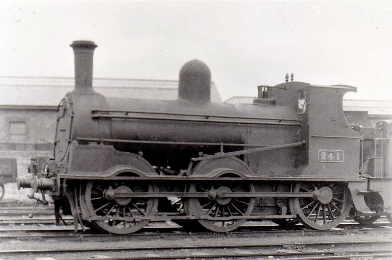 Class J15 - 241 - GS&WR Class 101 0-6-0, built 1902 by Inchicore Works - 1925 to GSR, 1945 to CIE - withdrawn 1957 - seen here at Limerick in 1932.