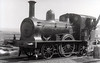 Class N 1 - 483 - WTR 2-2-2WT, built 1855 by W Fairbairn & Co. as Waterford & Tramore Railway No.1 - 1925 to GSR as No.483 - withdrawn 1936 - seen here at Tramore in 1932.